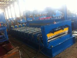 Corrugated Galvanized Sheet Machine